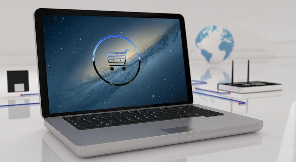 e-shop nákupy